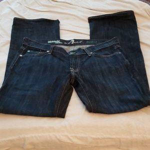 7 For All Mankind Organic Bootcut Jeans Size 29